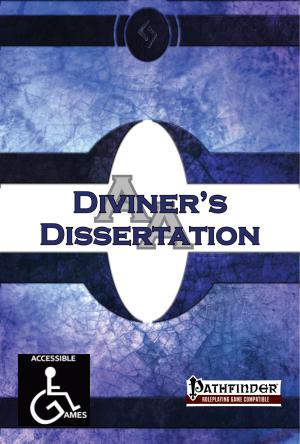 Diviner's Dissertation Cover